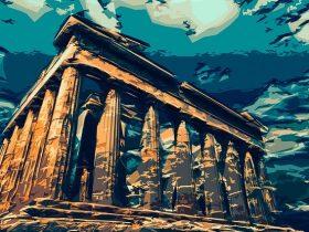 řecko atény ekonomika