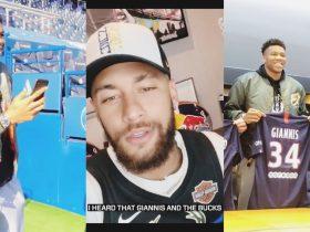 Janis Adetokunbo Giannis Antetokounmpo Neymar Junior JR PSG