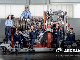 Women ženy v AEGEAN Airlines