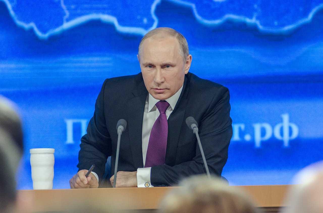 Vladimir Putin © Dmitrij Osipenko